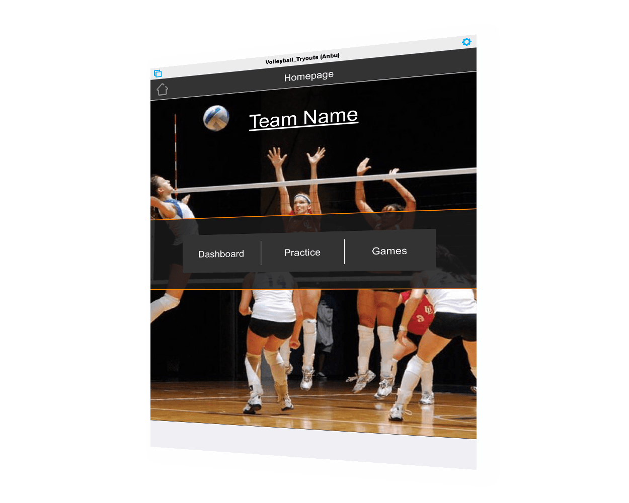 volleyball drill tracker